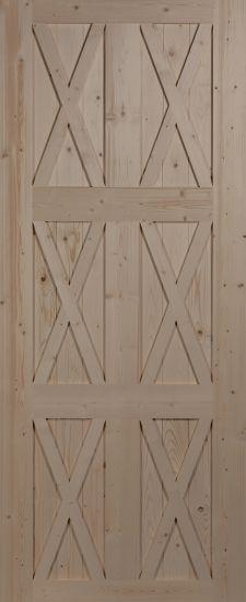"""Дверное полотно """"Амбарное №4"""""""